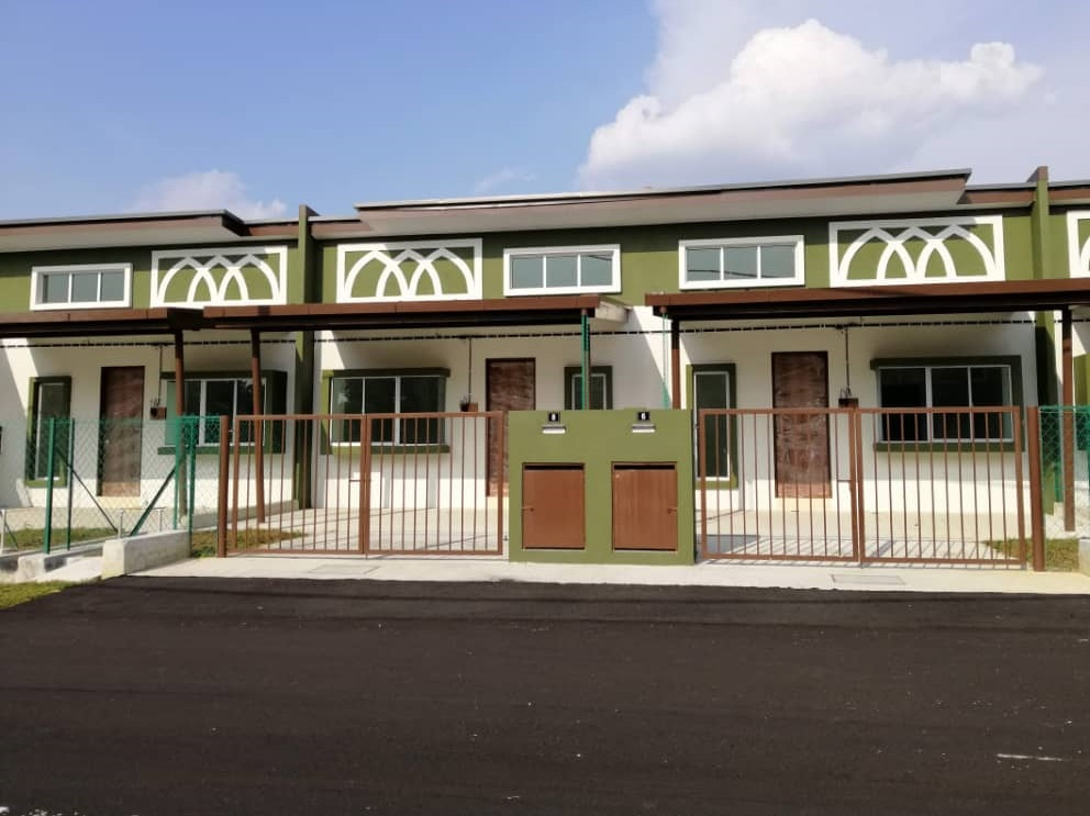 Lot 1491, Single Storey Terrace Homes @ Pekan Ijok