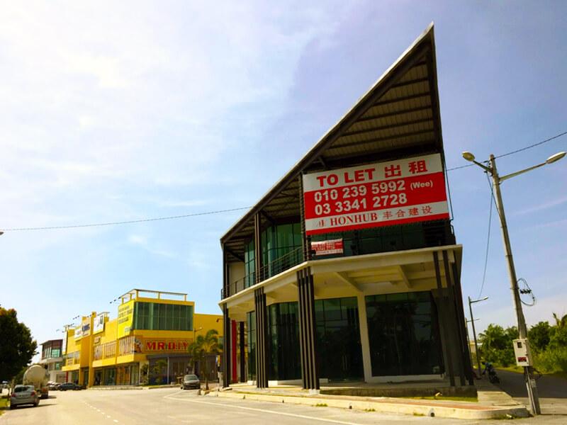 Lot 122, Show Room / Shop Lot @ Kuala Selangor