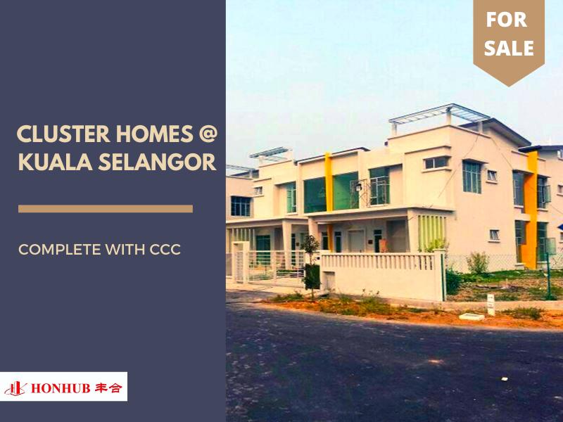 Lot 73, Cluster Homes @ Kuala Selangor