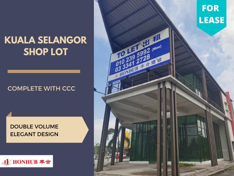 Lot 122, Shop lot. Kuala Selangor