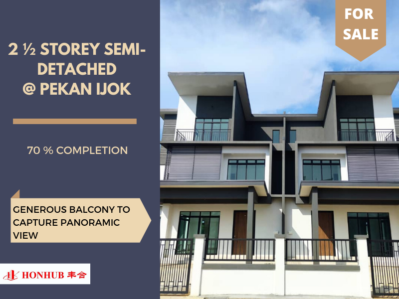 Lot 1007, 2 1/2 Semi Detached Homes @ Ijok