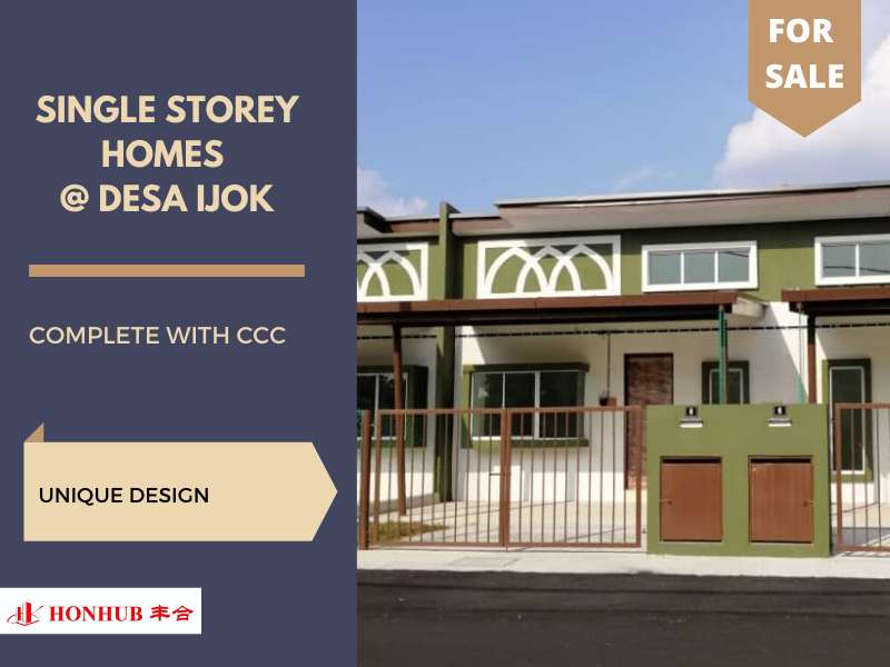 Lot 1491, Single Storey Terrace Homes @ Pekan Ijok