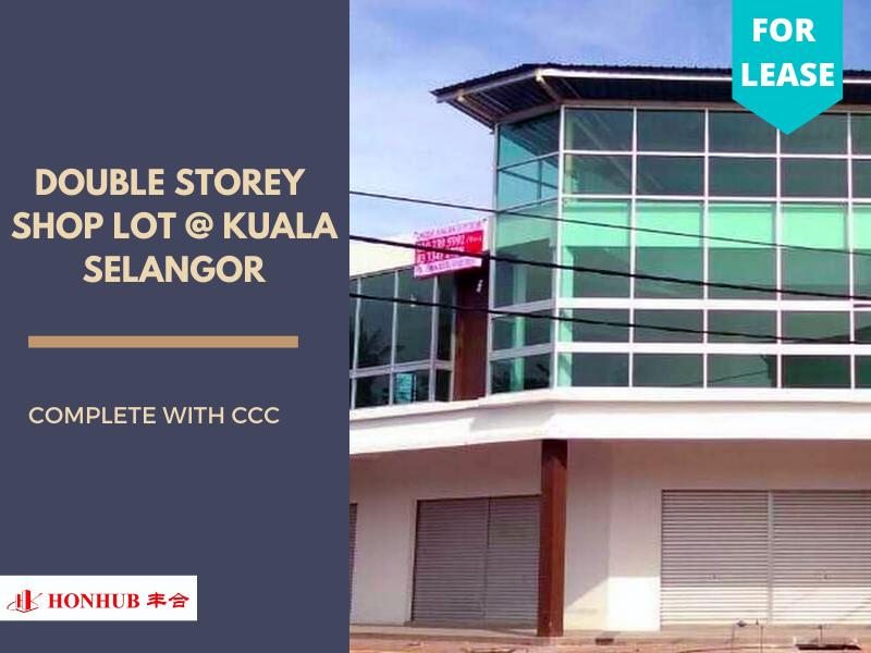 Lot 448, Kuala Selangor Double Storey Shop Lot