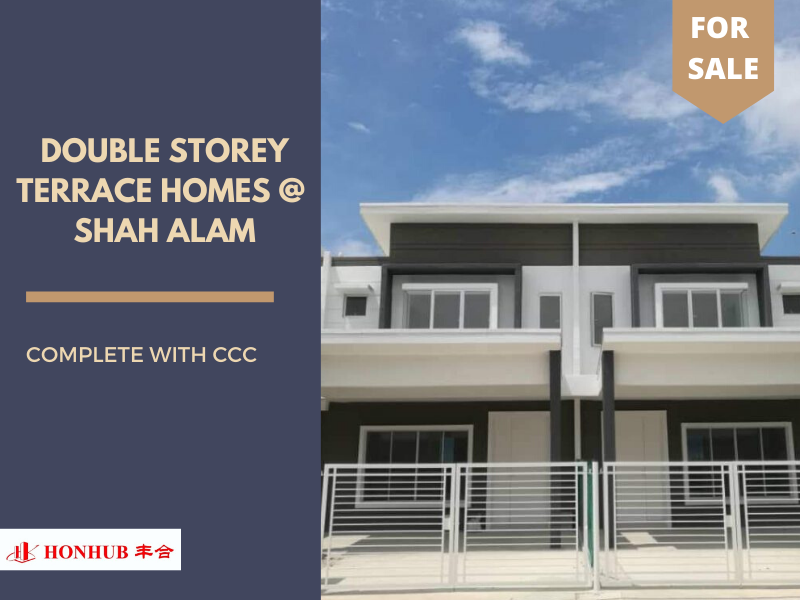 Lot 82334, Double Storey Terrace Homes @ Shah Alam