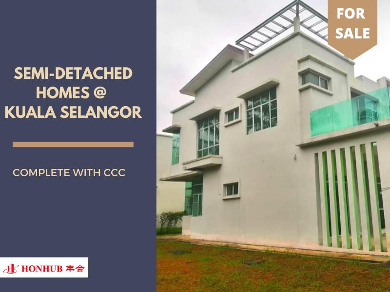 Lot 73, Double Storey Semi Detached Homes @ Kuala Selangor