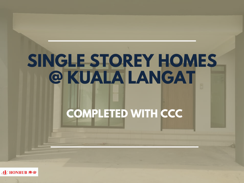 Lot 10779, Single Storey Terrace House @ Kuala Langat