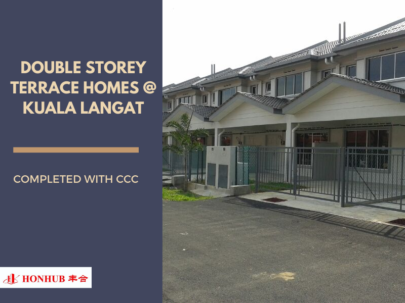 Lot 10504 Kuala Langat Double Storey Terrace