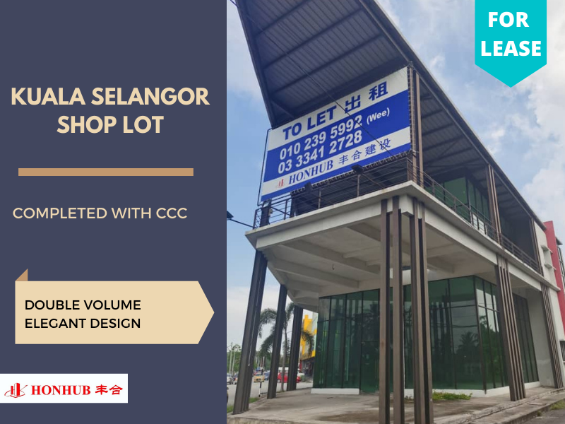 Lot 122 Shop Lot Kuala Selangor