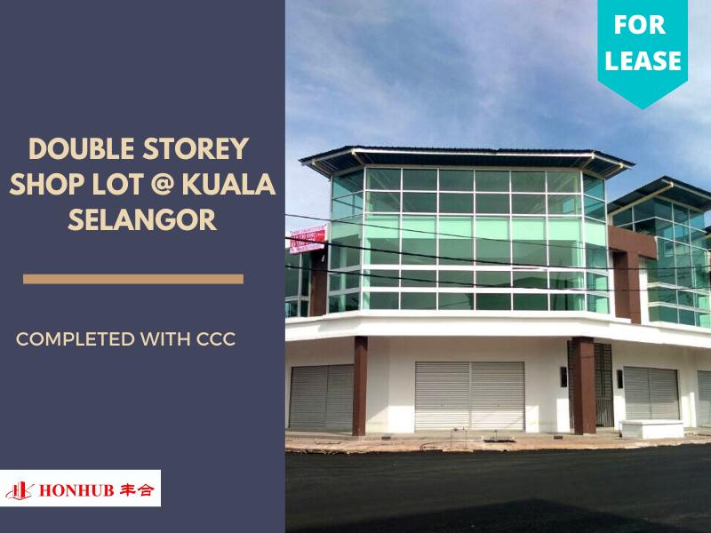 Lot 448 Kuala Selangor Double Storey Shop Lot